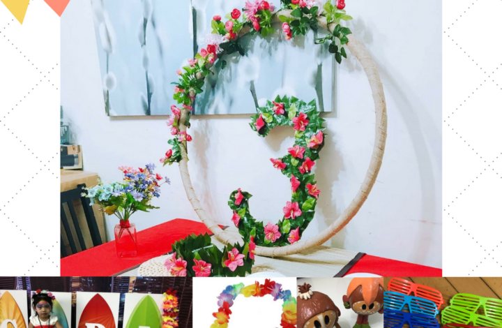 GIVEAWAY:  Free Party Decorations for Moana, Hawaiian or Beach Party