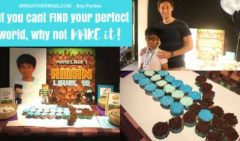 AIDAN'S GEEKY MINECRAFT CODING PARTY – 10th Birthday